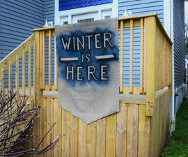 How to Make a Game of Thrones Inspired Banner