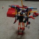 Knex Transfomers Man Helicopter