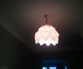 Origami Suspension Lamp