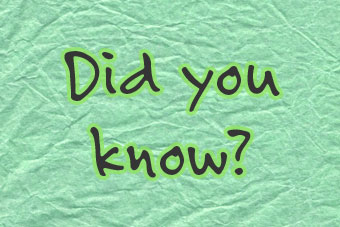 Picture of Did You Know?