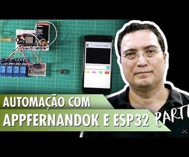Automation With AppFernandoK and ESP32