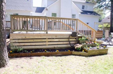 Add a Raised Bed to the Side