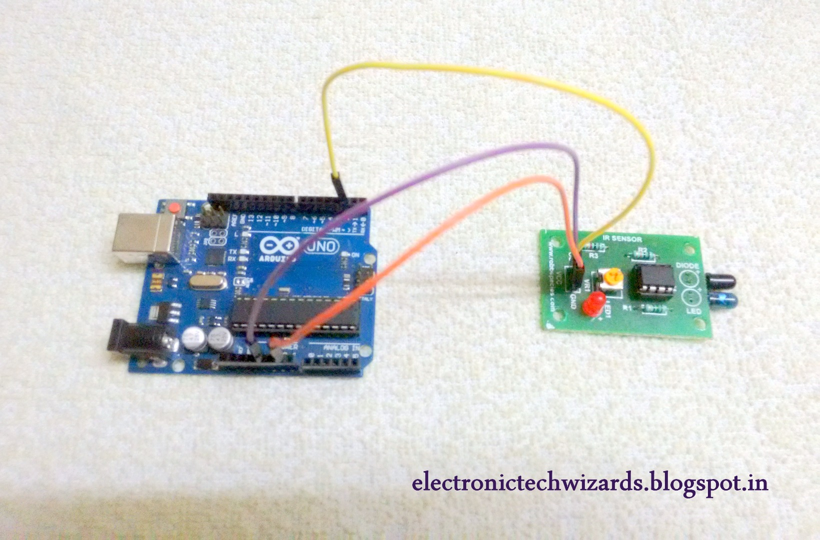 Picture of Connect Your Arduino to Your IR Sensor: