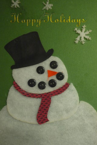 Do You Wanna Build a (laser Appliqué) Snowman? - Made at Techshop