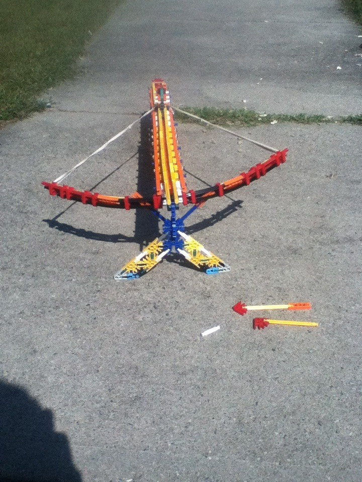 Picture of Knex Cross Bow Center Fire (instructions)