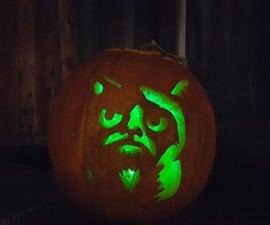 Programmable Pumpkin Light