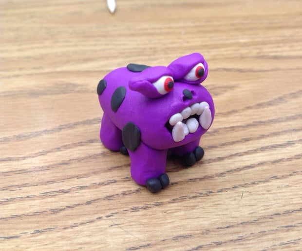 How To Make A Clay Monster 11 Steps With Pictures Instructables