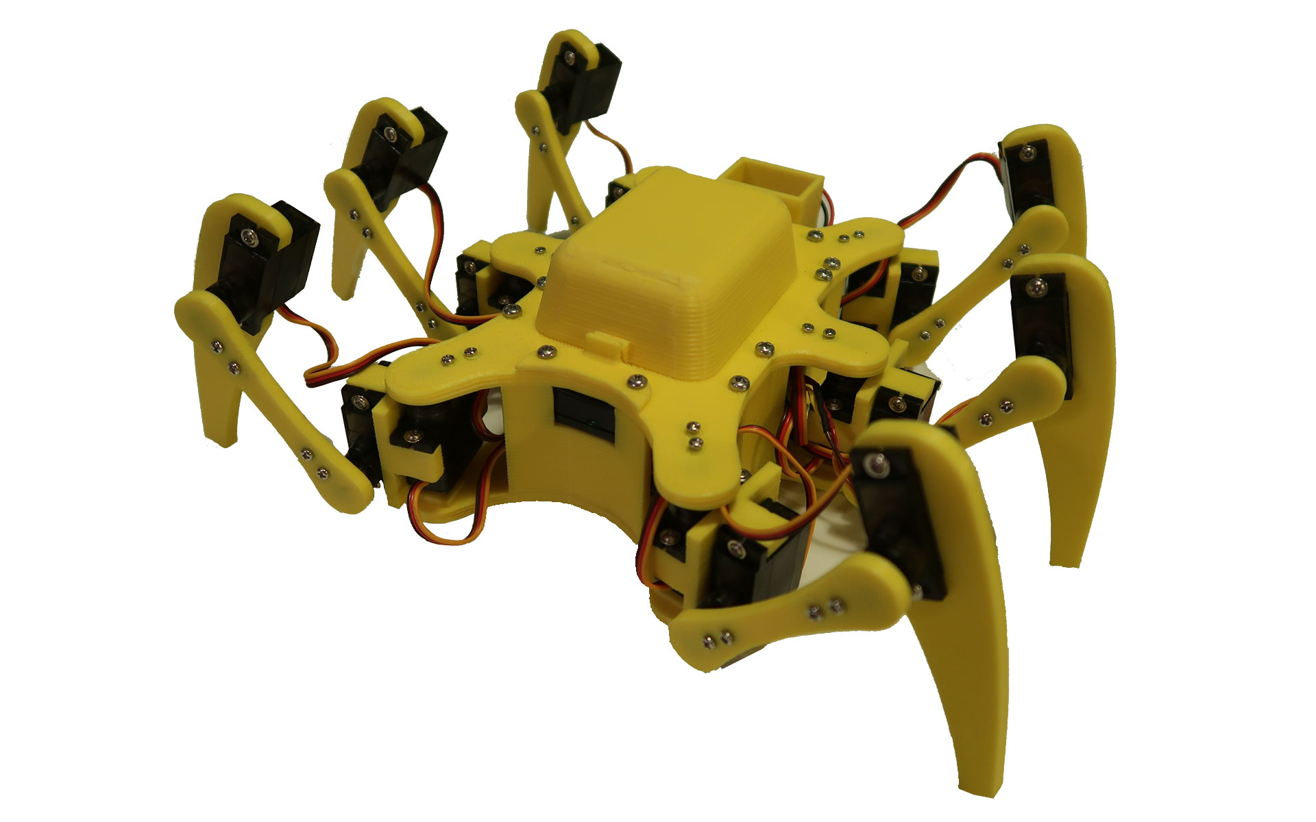 Picture of 3D Printed 18DOF Hexapod
