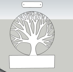 Tree Design: Inspiration and Modelling
