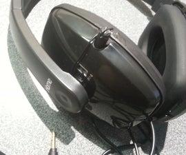 DIY Super-Noise-Canceling Headphones