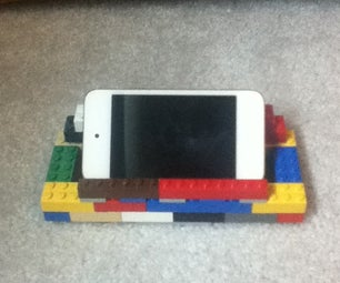 How to Make an IPod Touch Stand Out of Legos