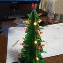 DIY 3D Christmas Tree Kit With RGB Flashing LEDs