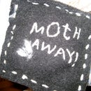 Mother's Day recycled wool moth sachet!