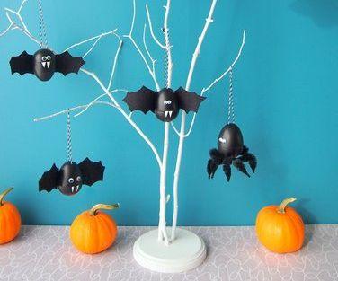 Halloween Bats and Spiders
