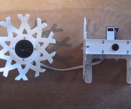 Make a custom speaker housing