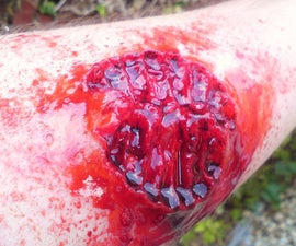 Walking Dead Style Zombie Bite Wound Application How To