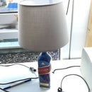 Upcycling: Liquor Bottle to Table Lamp