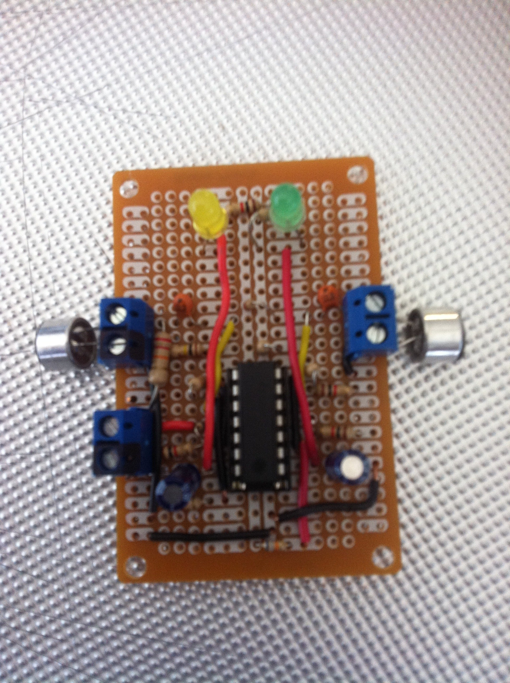 Sound Sensor Using A Lm324 4 Steps Electret Microphone Circuit As Well Arduino