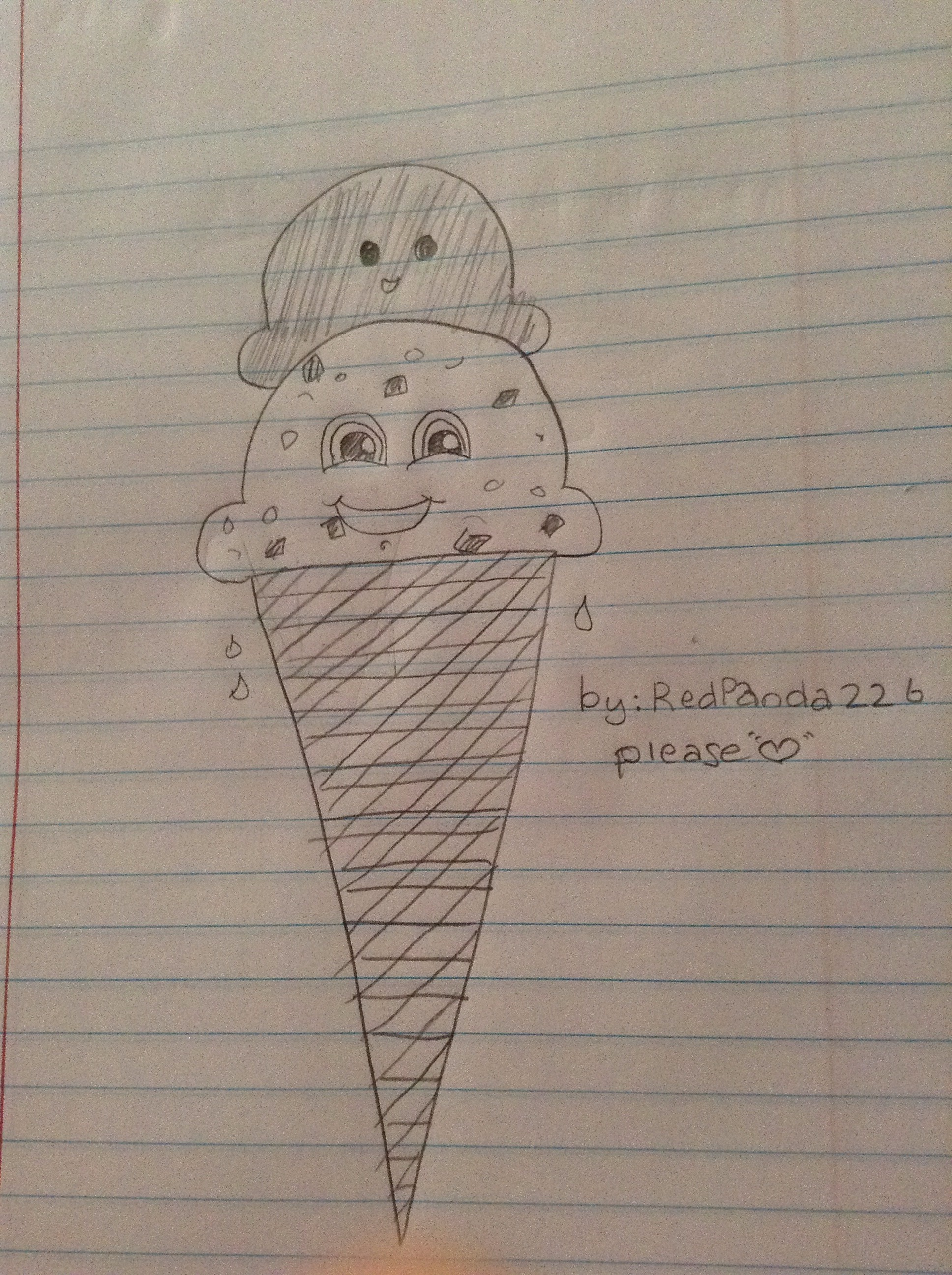 Picture of How to Doodle a Cute Icecream Cone