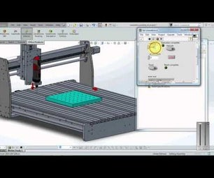 3D CAD Simulation In solidworks and labview