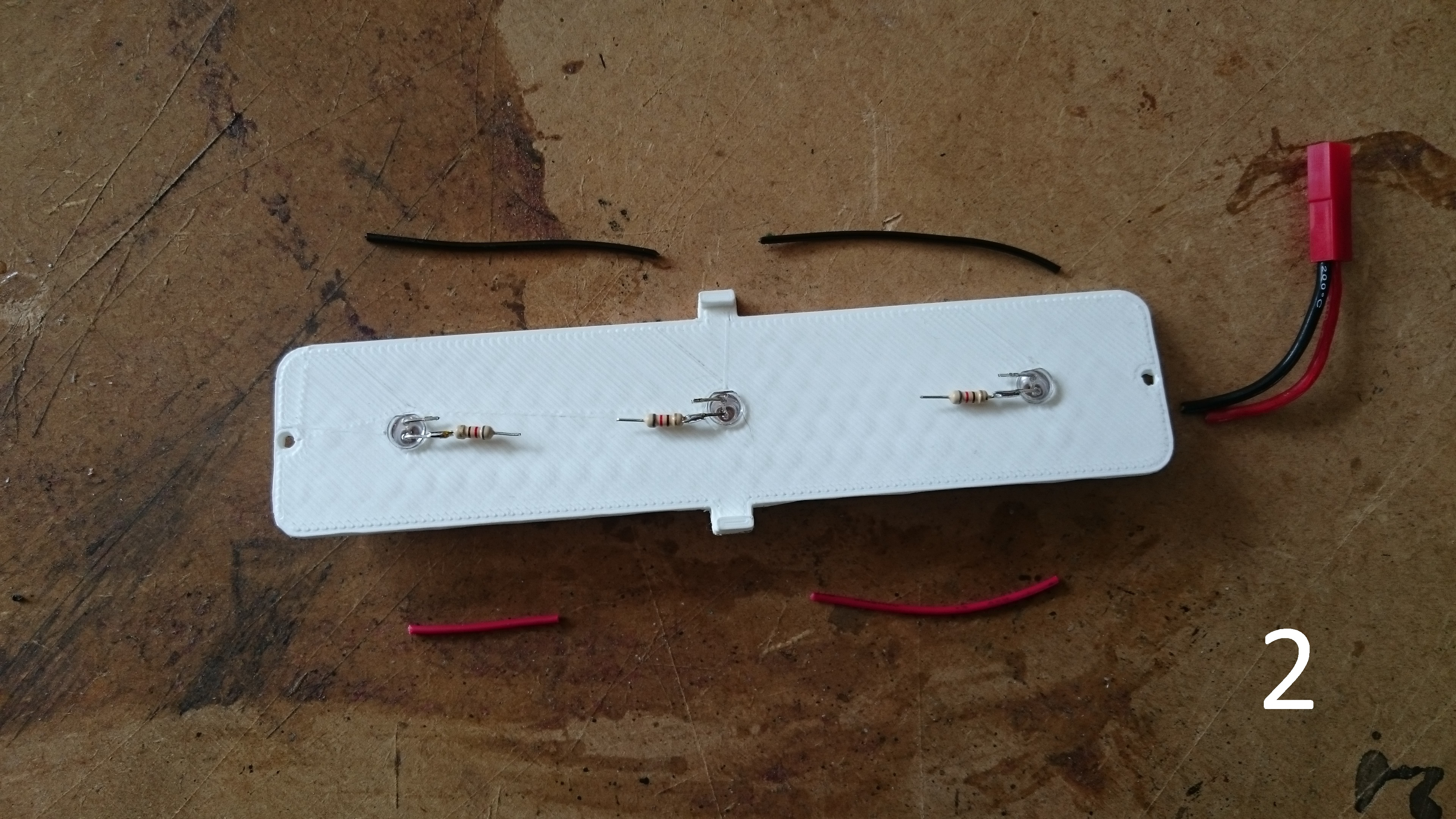 Picture of Assembly: LED Front Plate
