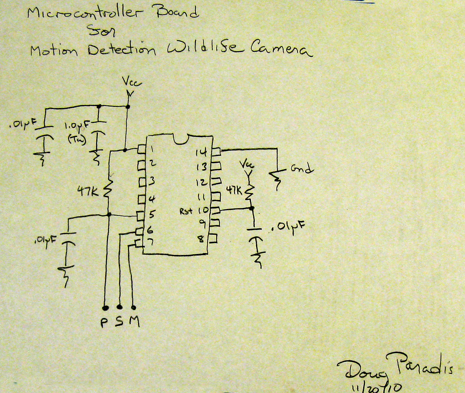 Picture of Wiring the Bread Board