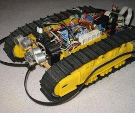 'Ramses' - autonomus robot on tracks