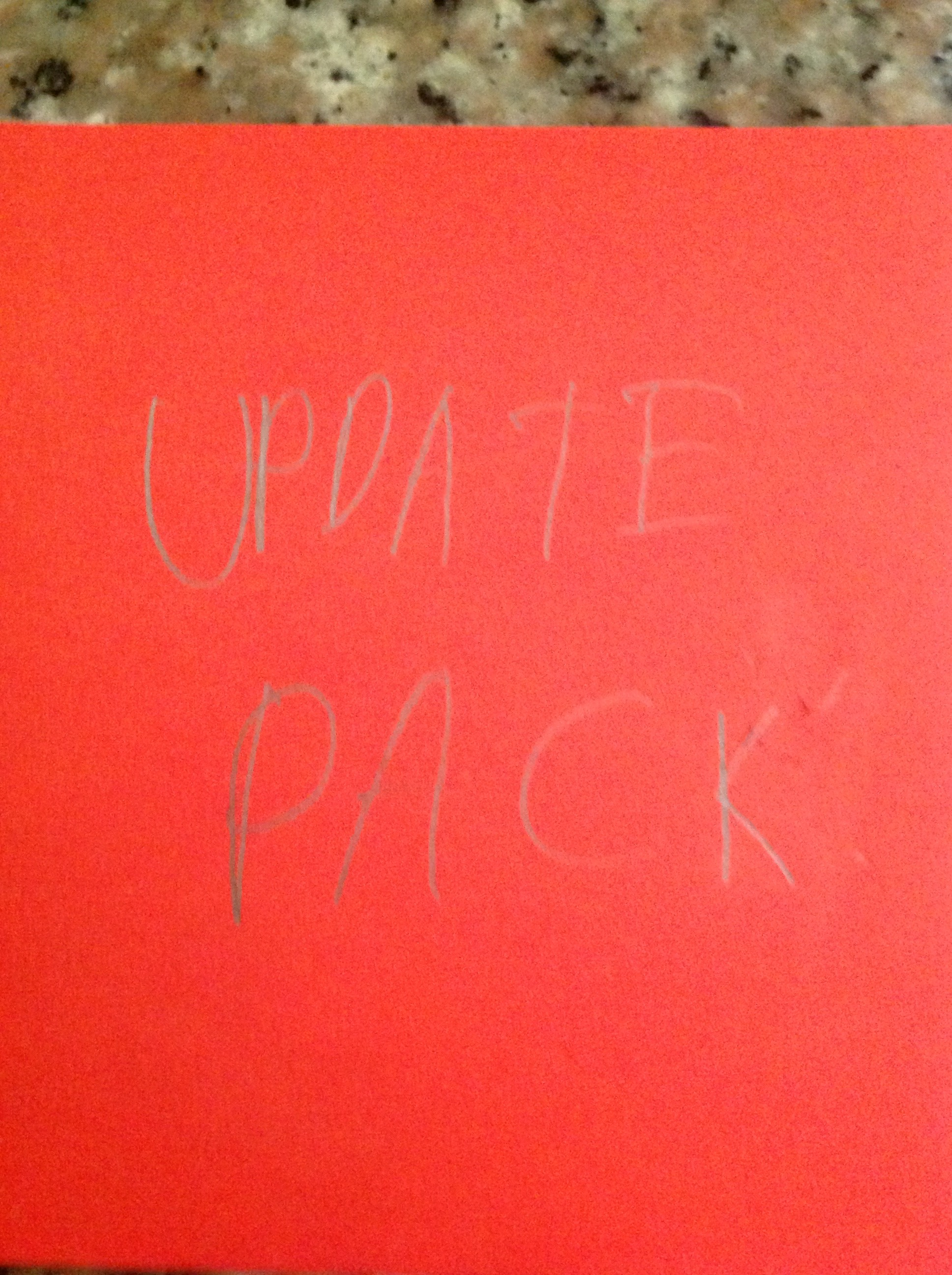 Picture of Update Pack 1