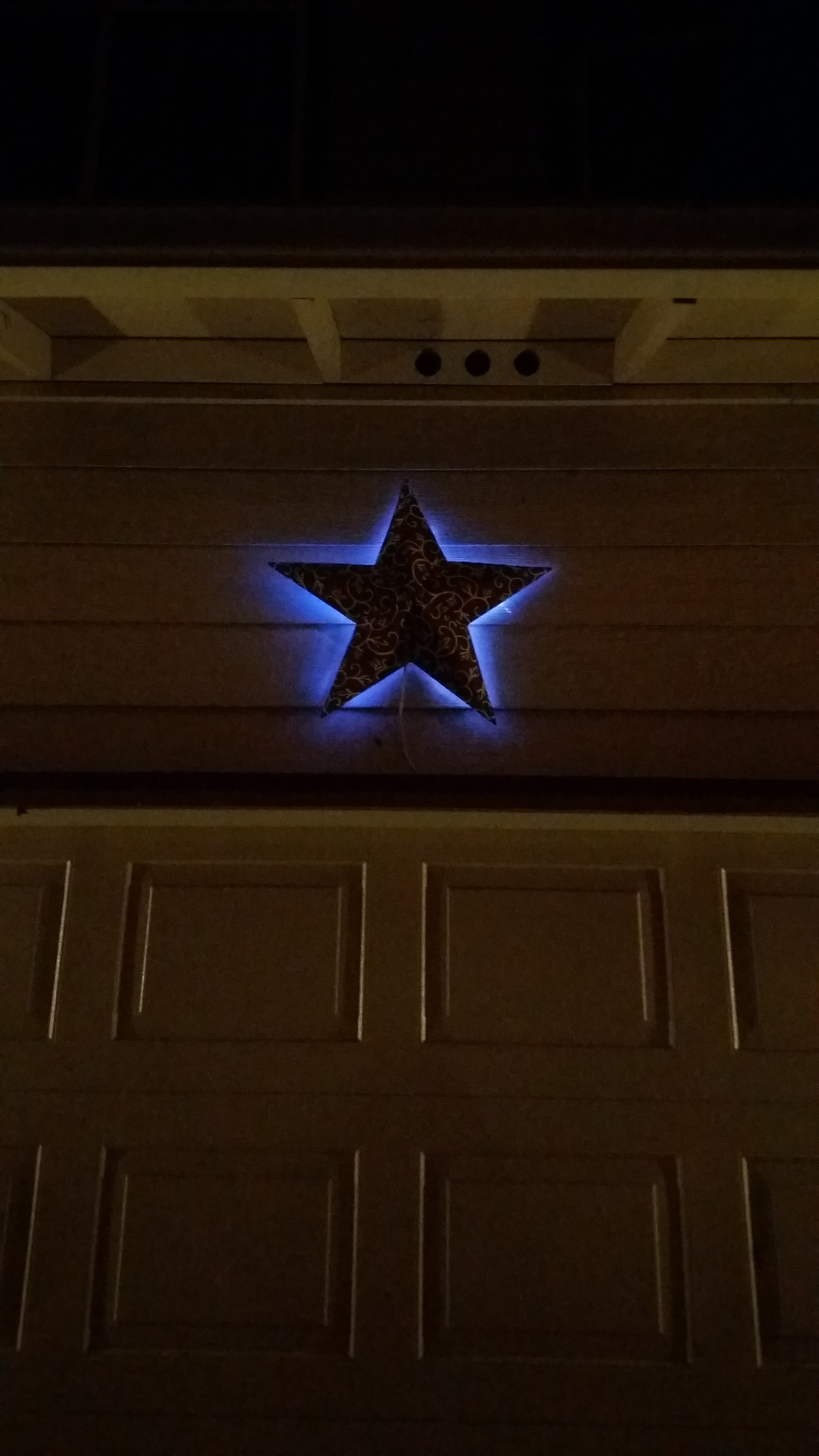 Picture of Backlit Decorative Star