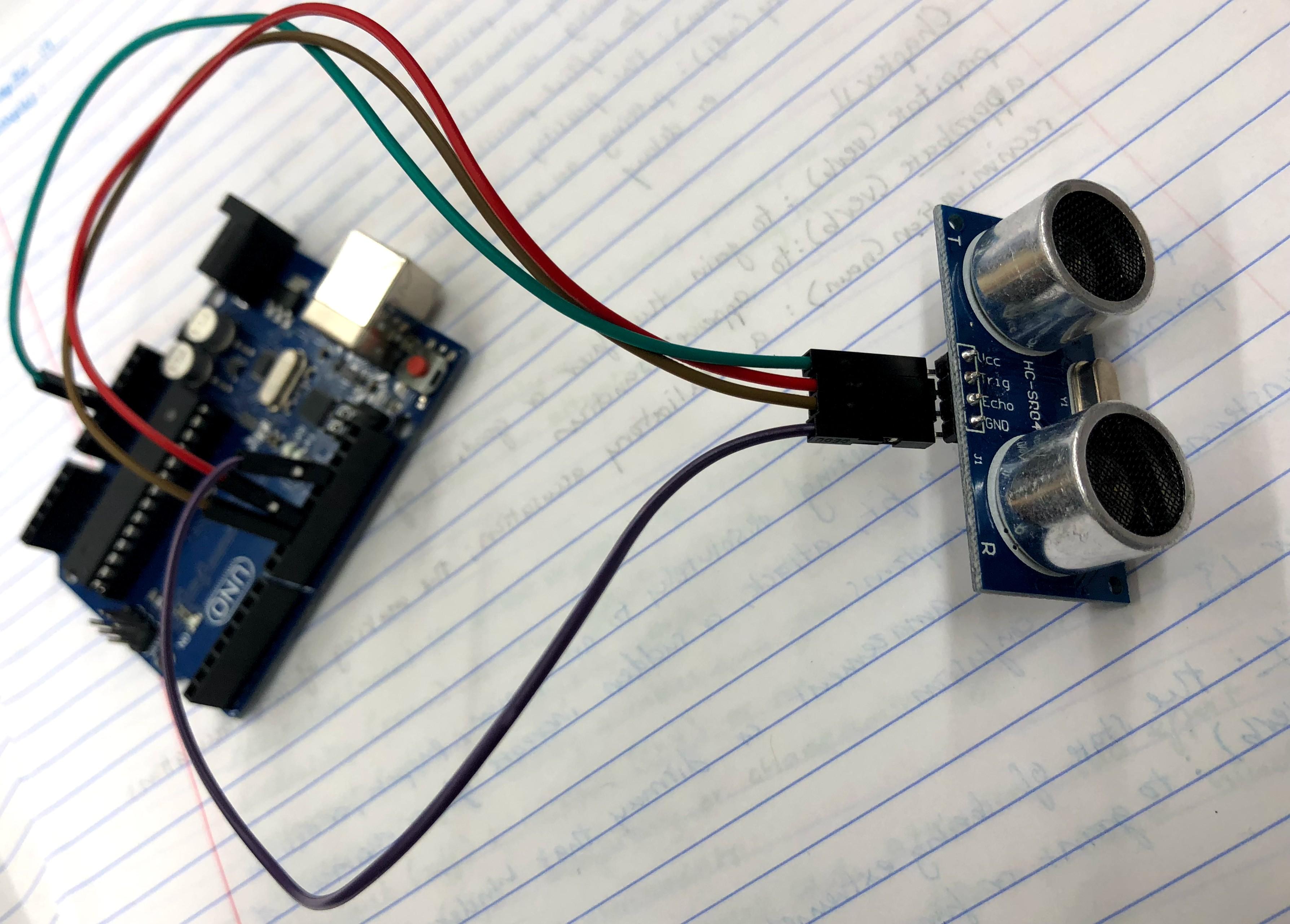 Picture of Create Sonar Rangefinder Using Arduino