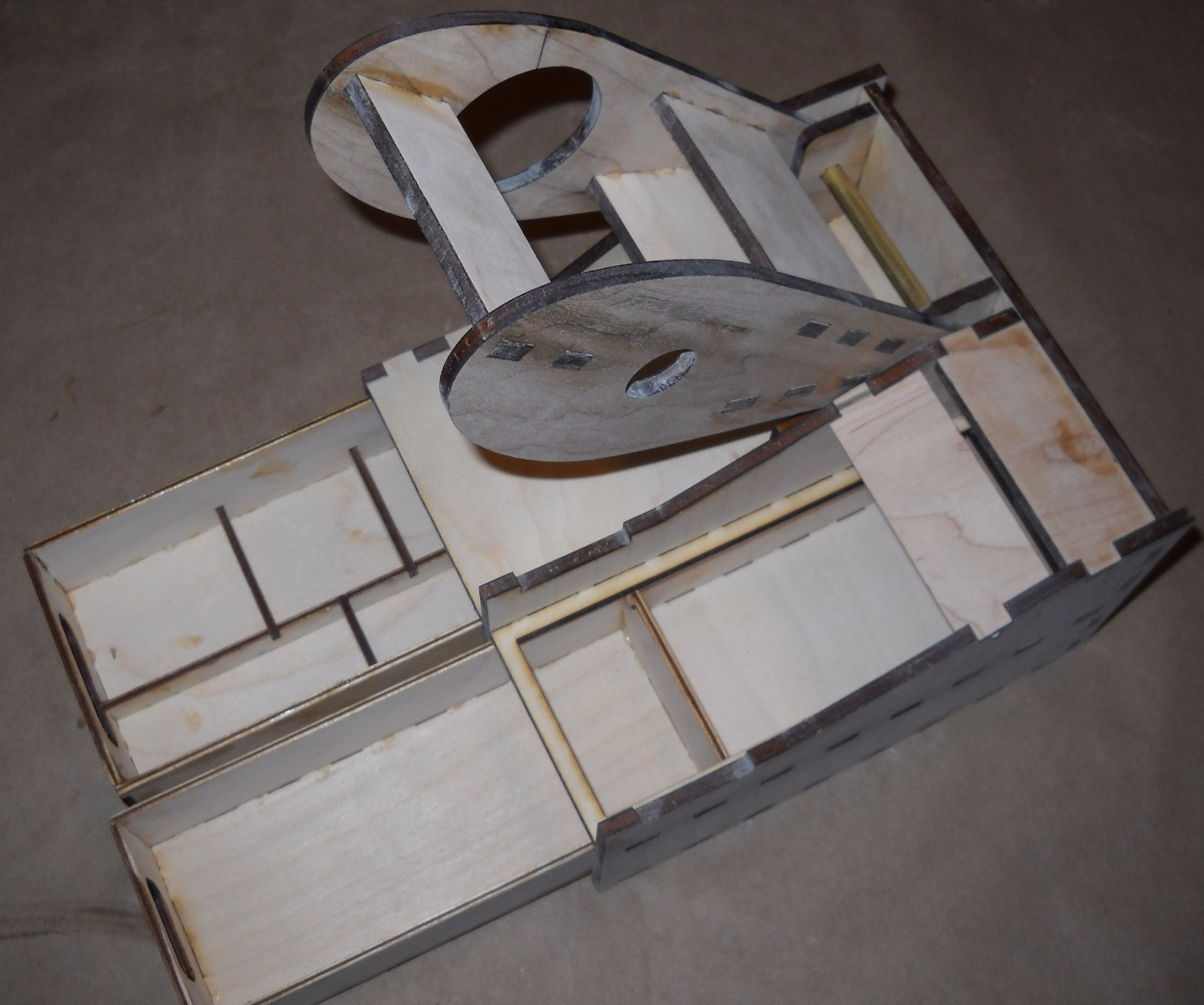 Picture of Build the Drawers and Check Them for Fit