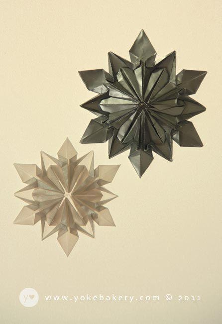 Picture of Origami Snowflake