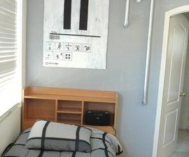 Portal 2 Themed bedroom