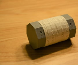 3D Printed Cryptex Puzzle Safe