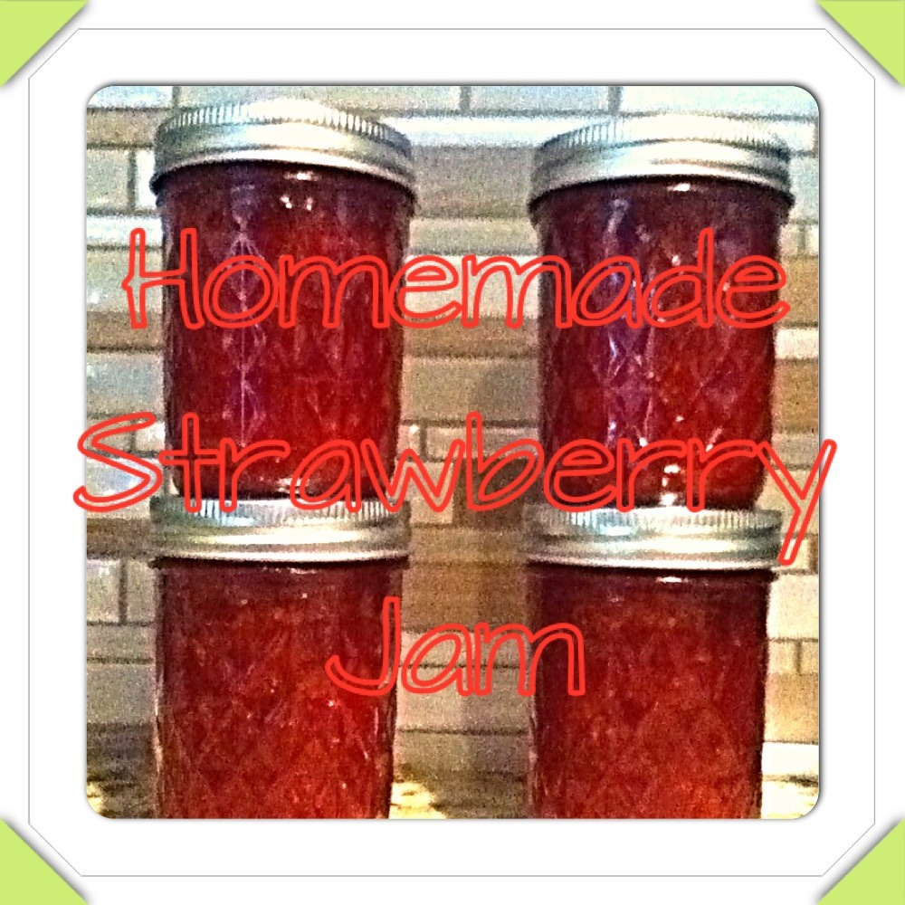 Picture of Homemade Strawberry Jam