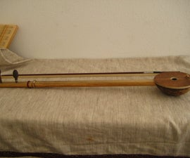 coconut er-hu (mongolian violin)