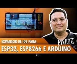 IO Expander for ESP32, ESP8266, and Arduino