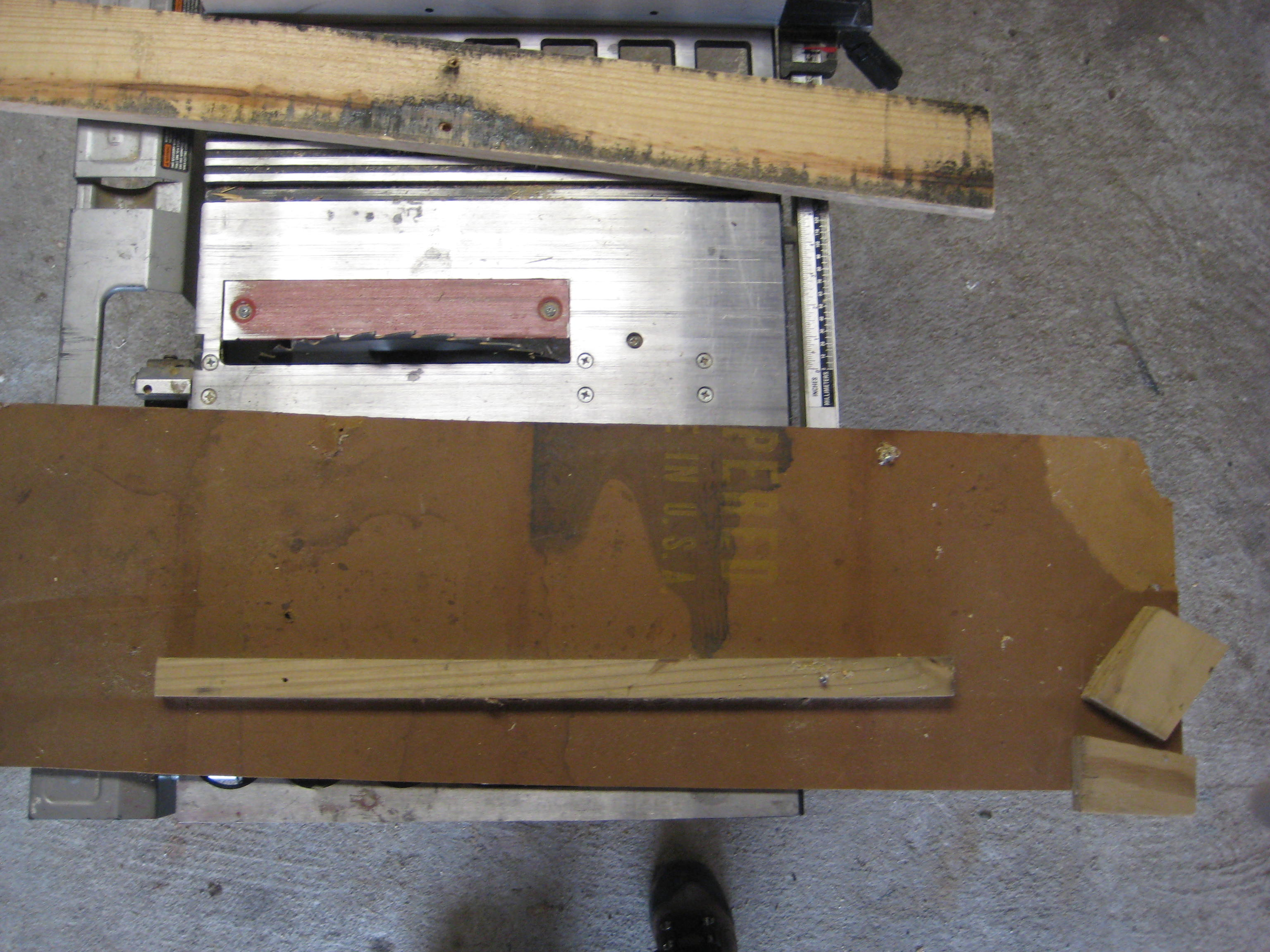 Picture of Measure and Cut the Chair Back Slats
