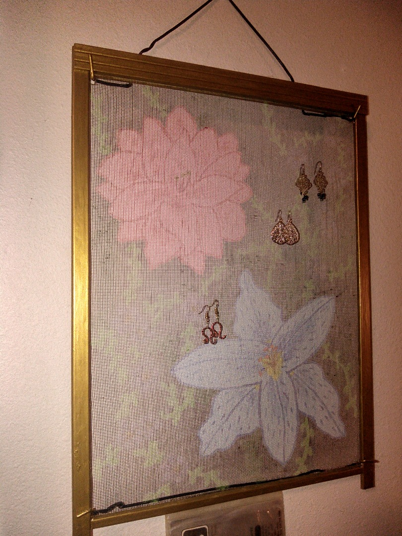 Picture of Hanging Earring Holder