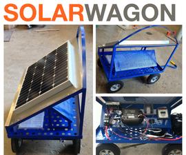 Off-the-Grid Solar Wagon