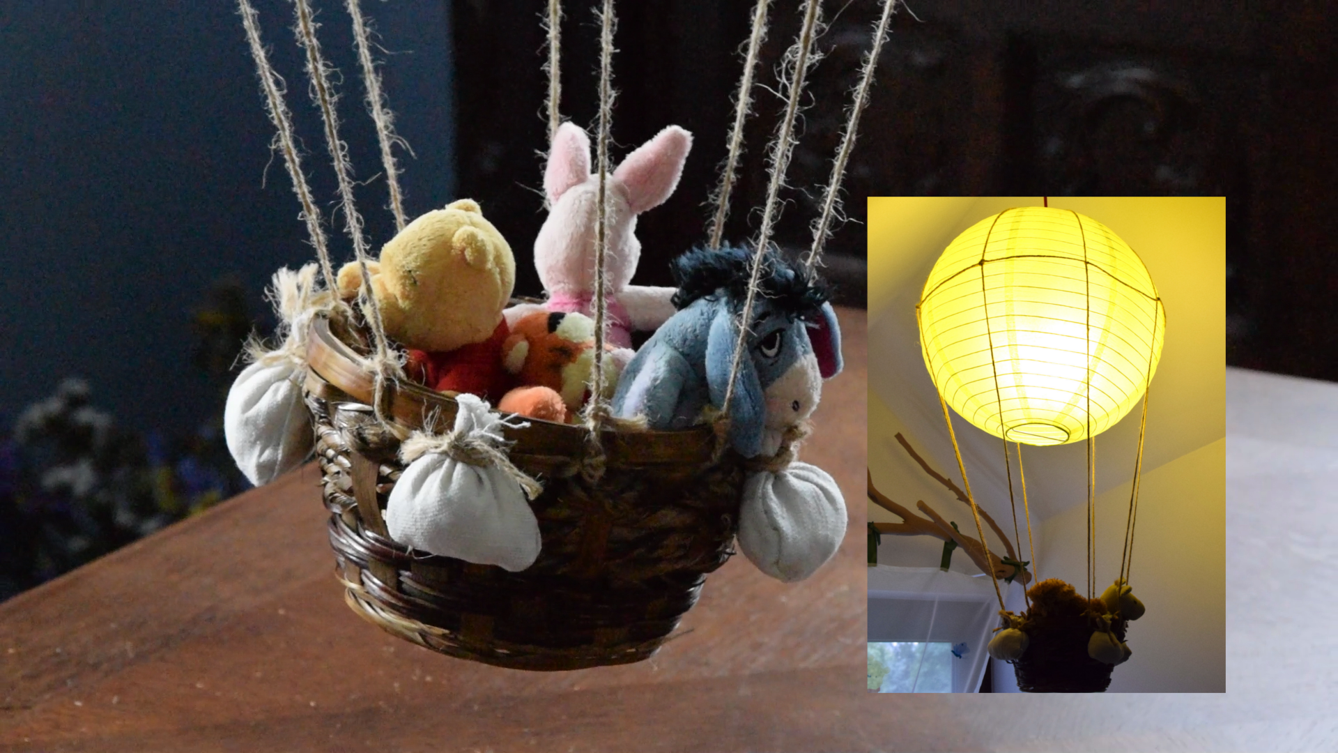 Picture of Cool Balloon Lamp From Cheap Lampshade - Great for Kids