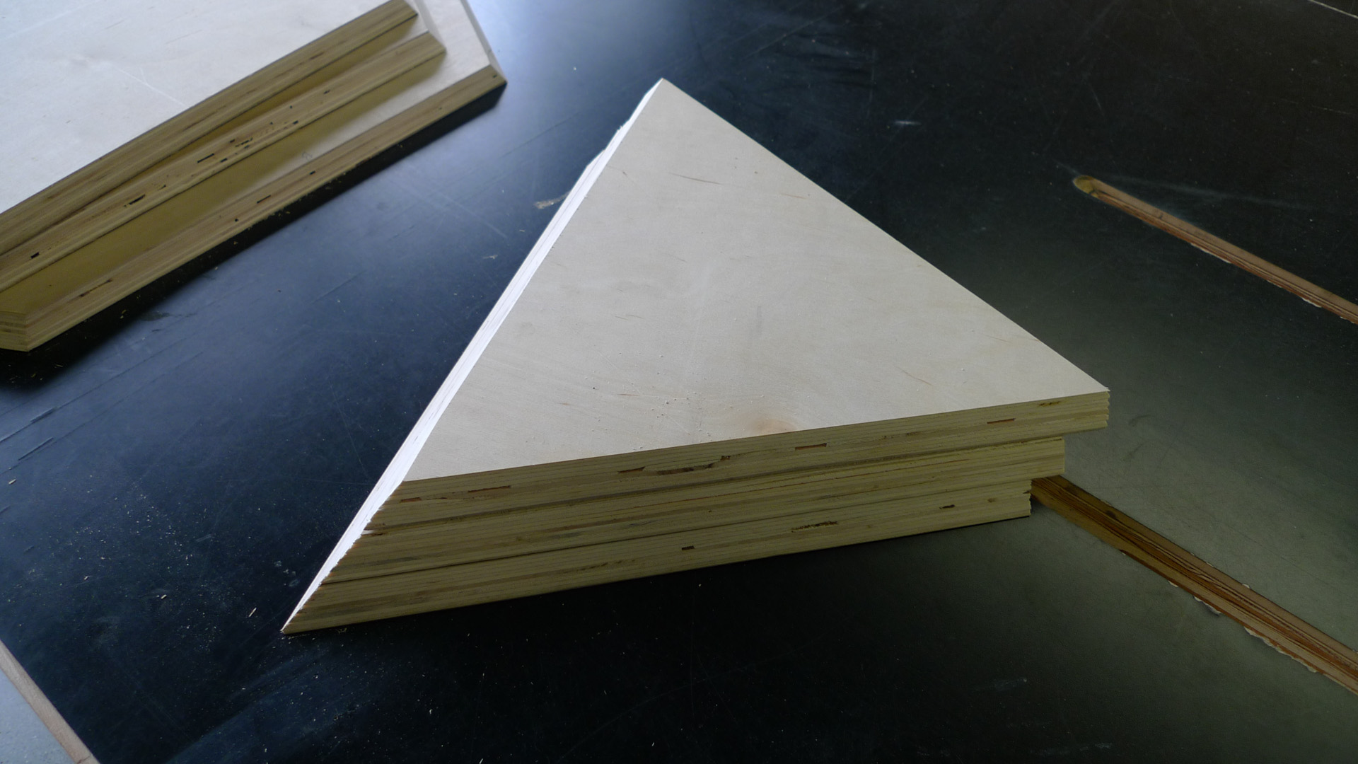 Picture of Finished Mitre Cuts