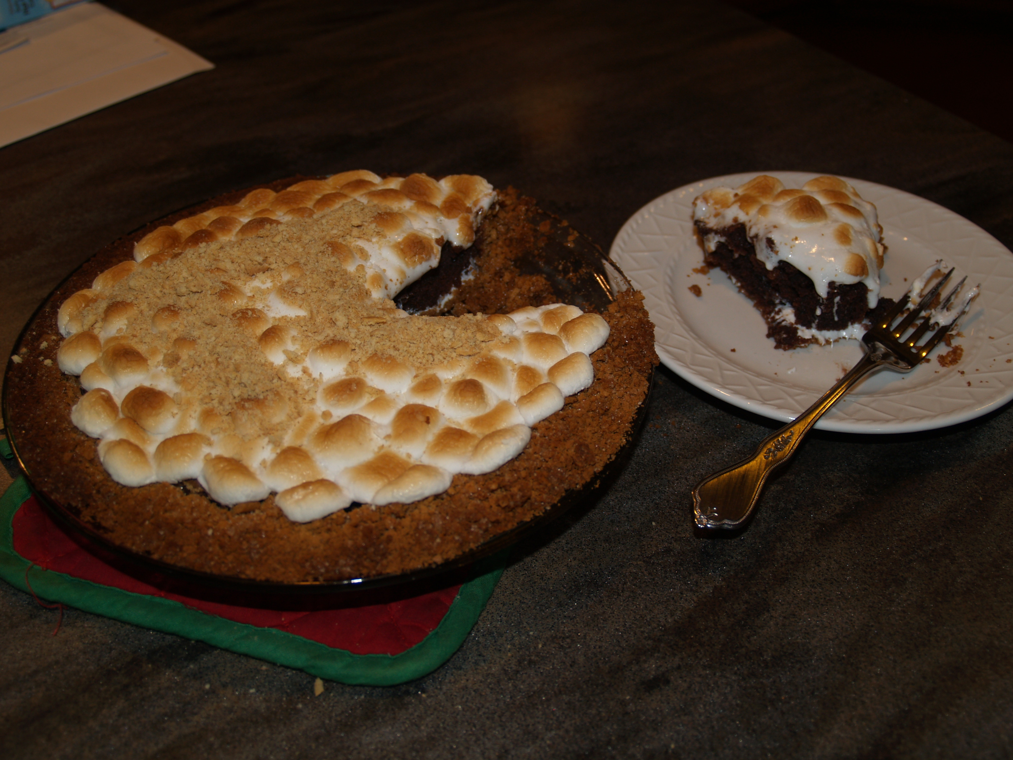 Picture of S'more Brownie Pie!
