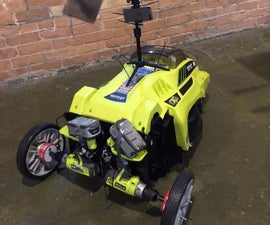 Self Driveing Lawn Mower Remote Control Autonomous Lawn Mower using RaspberryPi