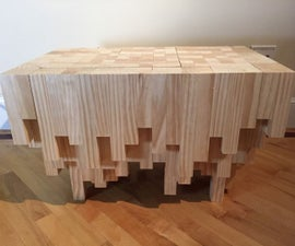 Cascade Coffee Table with Hidden Compartment