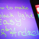 How to Make Black Light - UV Light - No Cost