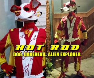 Hot Rod Alien Dog Costume