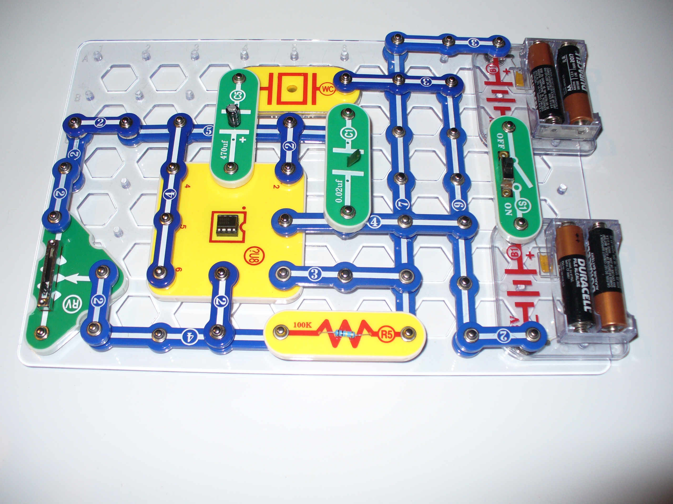 Snap Circuits Jr Project Book The Book Contains Instructions On Over