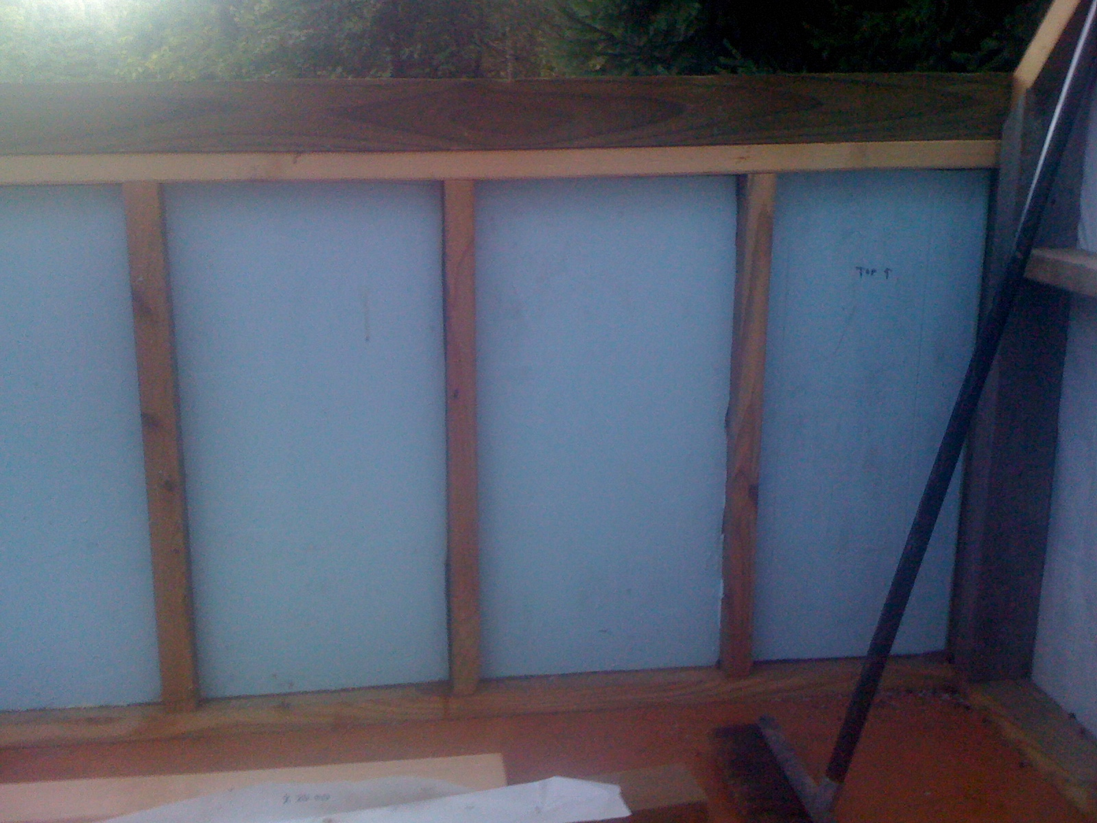 Picture of Insulating the Walls