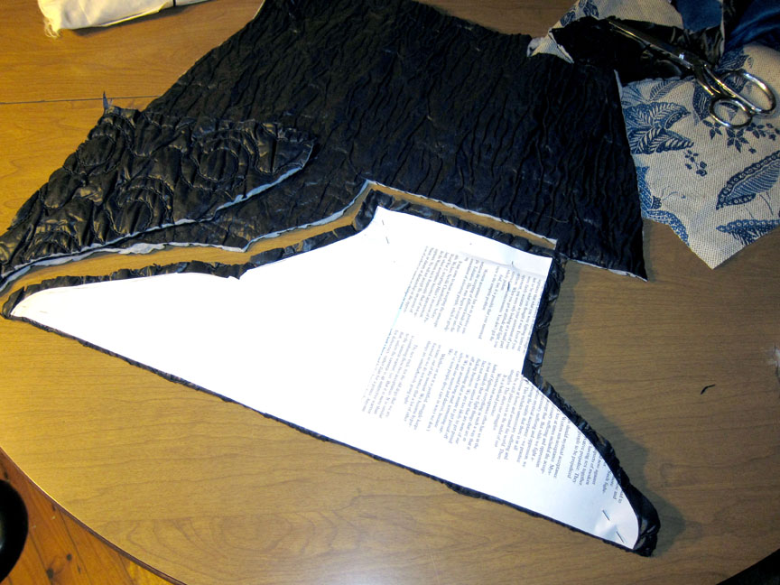 Picture of Cutting Out Fabric Pieces